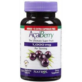 Acai Berry 1000 mg (60+15 Caps)