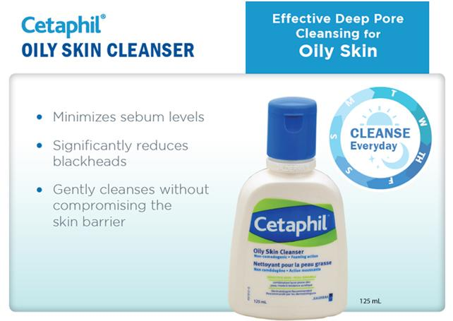 Cetaphil - Oily Skin Cleanser (125ml)