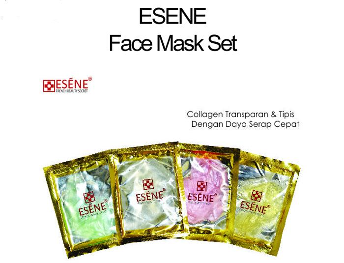 Esene - Paket Face Mask (4 Warna)