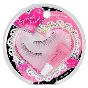 Spring Heart Eyelash Fix (Standart Natural-06)