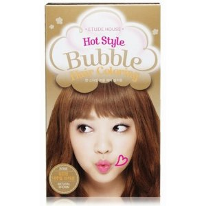 Hot Style Bubble Hair Coloring (Natural Brown)