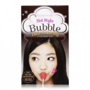 Hot Style Bubble Hair Coloring ( Dark Choco Tone Down)