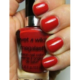 Fergie Nail Color red a good book