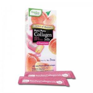 Puru Puru Collagen Jelly ( Peach Juice )