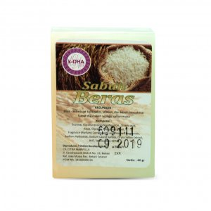 K-DHA Soap - Sabun Beras (2X40gr)