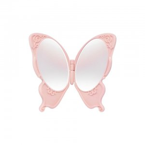 Butterfly Compact Mirror (Pink)
