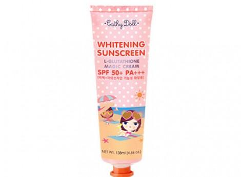 Whitening Sunscreen L-Glutathione Magic Cream SPF 50+ PA+++ 60ml