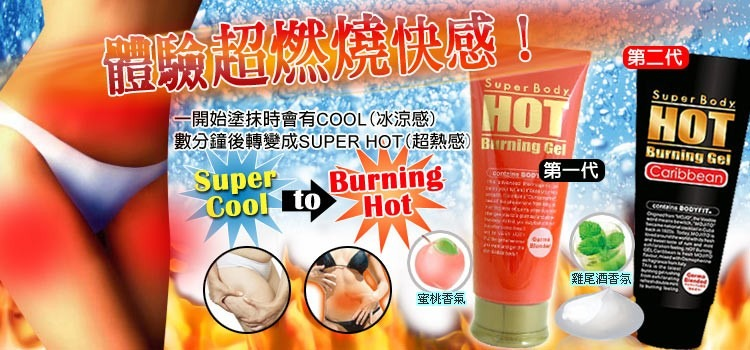 GOODS MAN - Super Cellulite - Hot Burning Gel