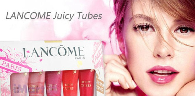 LANCOME - Juicy Tubes Hydrating Lip Gloss (No 19 - Lychee)